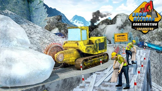 Snow Offroad Construction Excavator 5