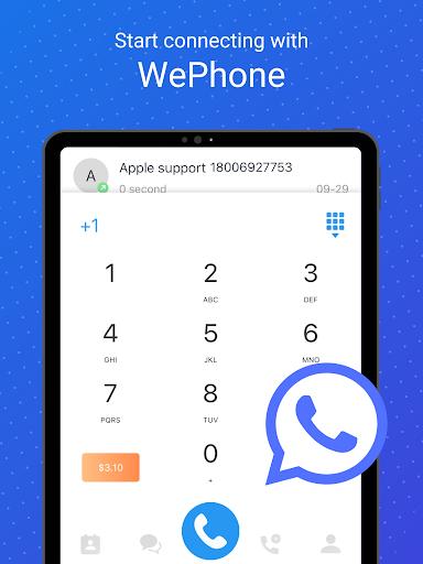 WePhone - Free Phone Calls & Cheap Calls 20102318 Screenshots 9