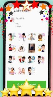 ud83dude0dAnimated baby stickers for WhatsAppud83dudc76ud83cudffb 1.0 screenshots 5