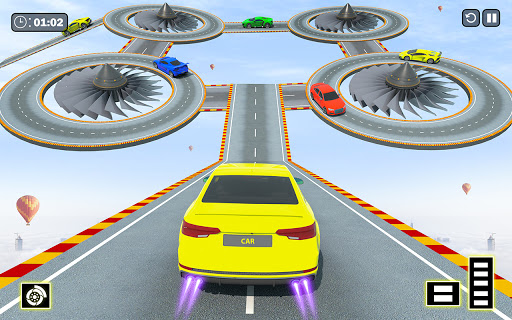 Crazy Ramp Car Stunts :Mega Ramp Stunt Games  screenshots 1