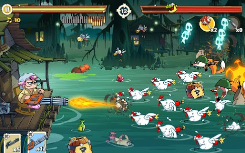 Swamp Attack 2 MOD APK 1.0.11.11 (Unlimited Money) 7