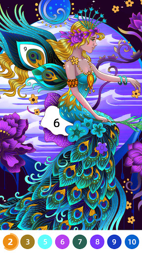 Flora Coloring: Color by Number Painting Game 1.0.10 screenshots 7