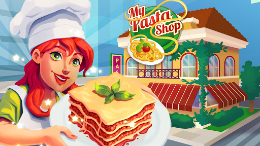 My Pasta Shop - Italian Restaurant Cooking Game apkslow screenshots 5
