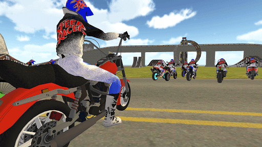 Bike Rider VS Cop Car - Police Chase & Escape Game Apkfinish screenshots 3