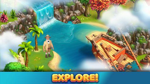 Bermuda Farm: City Building & Farming Island Games apkpoly screenshots 7