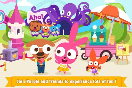 Papo Town: Amusement Park modiapk screenshots 1