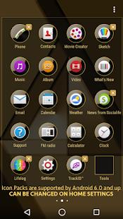 MonoChrome Gold for Xperia
