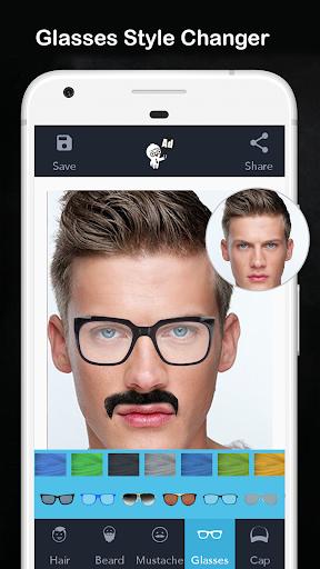 Men Hair Style - Photo Editor - Men Hair Editor  Screenshots 4