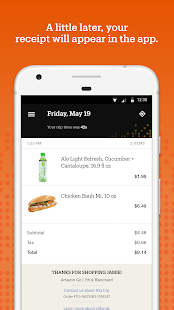 Amazon Go Screenshot