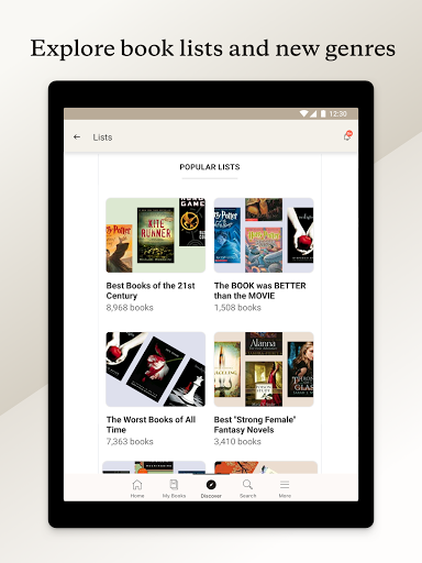 Goodreads 2.24.1 Build 2 screenshots 10