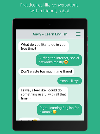 Andy - English Speaking Bot 2.8.2 Screenshots 4