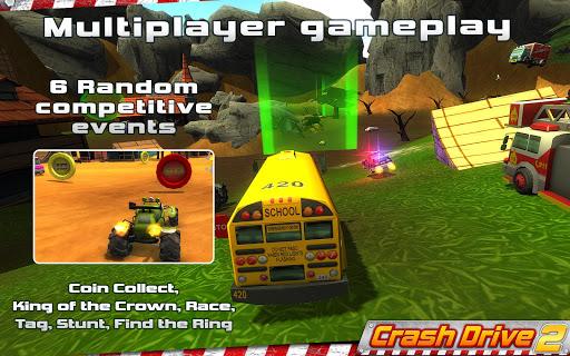 Crash Drive 2: 3D racing cars 3.70 screenshots 1