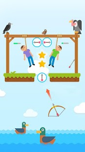 Gibbets-Bow Master! Bow & Arrow games Screenshot