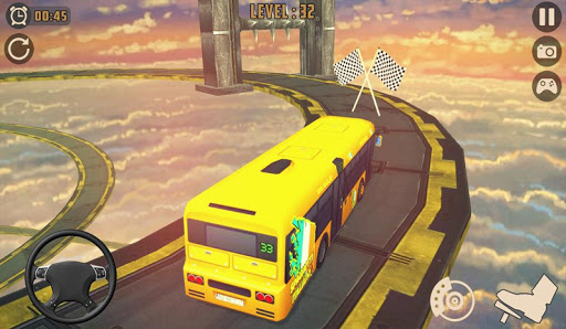 Télécharger Impossible Bus Sky King Simulator 2020 mod apk screenshots 5