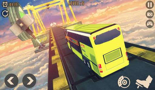 Télécharger Impossible Bus Sky King Simulator 2020 mod apk screenshots 3