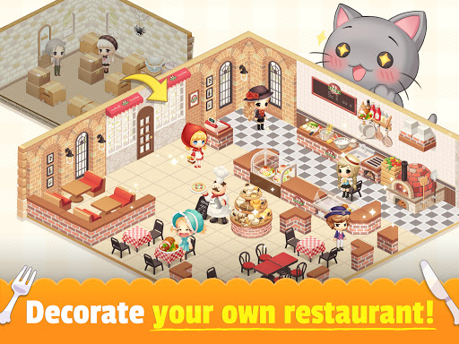 My Secret Bistro - Play cooking game with friends 1.8.6 screenshots 9