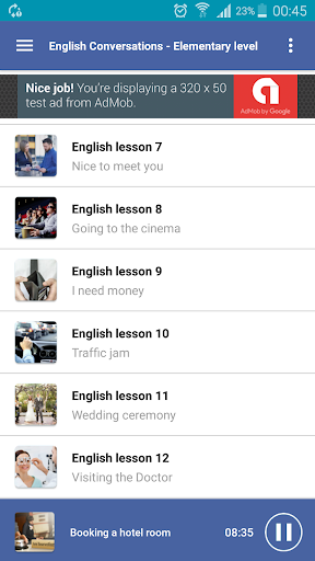 learning english conversation for elementary screenshot 3