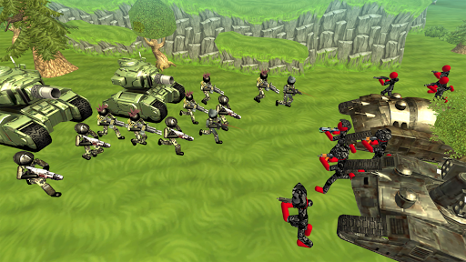 Stickman Tank Battle Simulator 1.10 screenshots 4