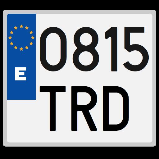 Baixar Spanish license plates - date para Android