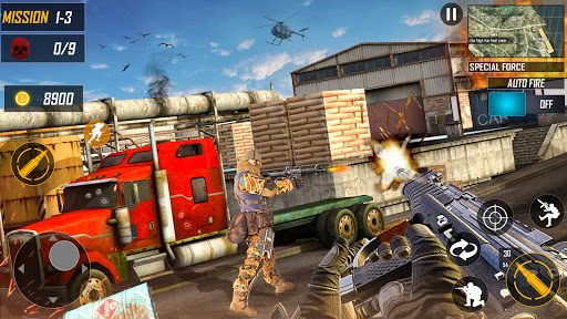 Special Ops FPS Survival Battleground Free-fire 1.0.10 Screenshots 3