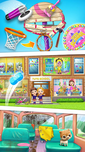 Sweet Baby Girl Cleanup 6 - School Cleaning Game android2mod screenshots 3