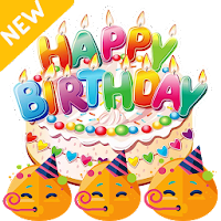 Happy Birthday Stickers - WAStickerApss