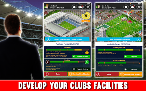 Club Soccer Director - Soccer Club Manager Sim 2.0.8e screenshots 11