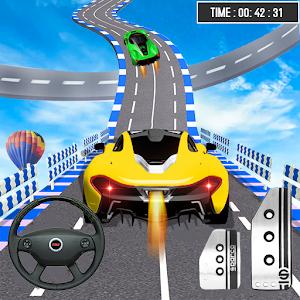 Mega Ramp Car Stunt Racing Games  Crazy Car Games