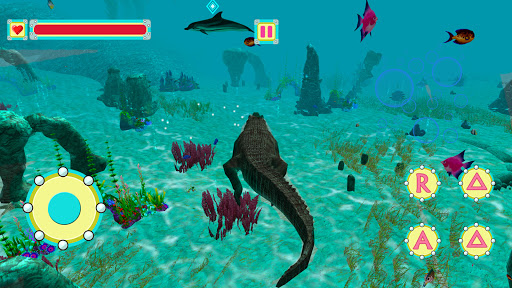 Underwater Crocodile Simulator u2013 Crocodile Games 1.3 screenshots 8
