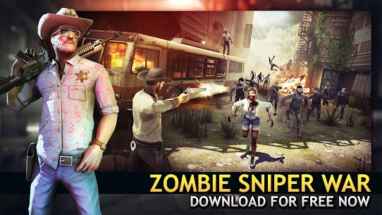 Last Hope Sniper – Zombie War Mod Apk 3.31 (Unlimited Money) 6