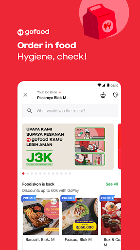 Gojek - Ojek Taxi Booking, Delivery and Payment android2mod screenshots 2
