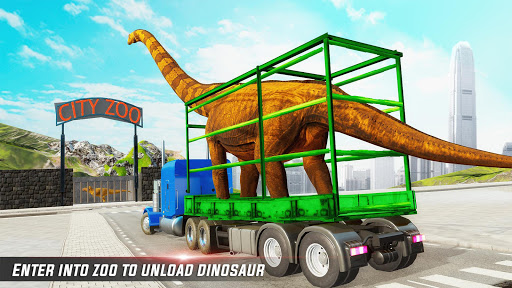 Dino Transport Truck Games: Dinosaur Game 1.6 screenshots 10