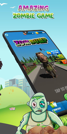 Zombump: Zombie Endless Runner apklade screenshots 2