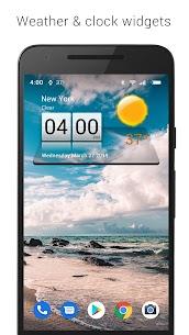 3D Sense Clock & Weather MOD (Premium/Unlocked) 1