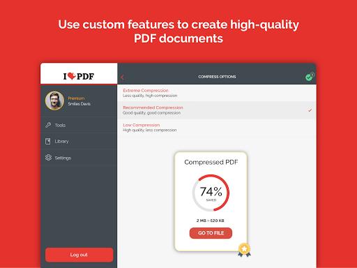 iLovePDF - PDF Editor & Reader 1.4.0 Screenshots 10
