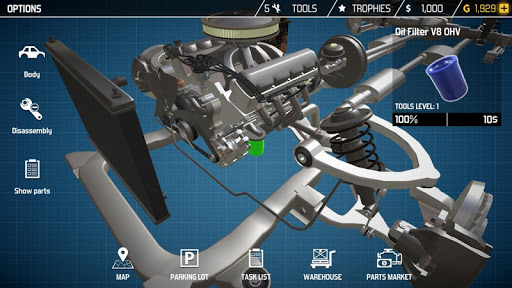 Car Mechanic Simulator 1.3.8 screenshots 8