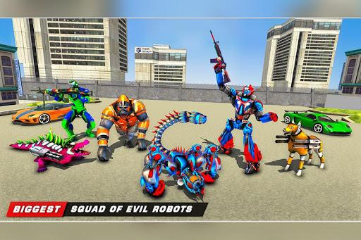 Scorpion Robot Transforming u2013 Robot shooting games  screenshots 1
