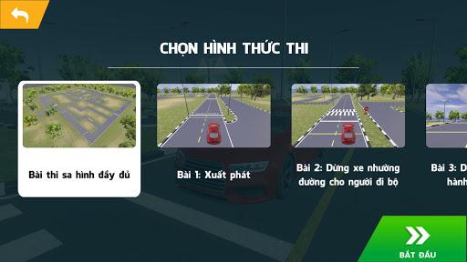 Hu1ecdc Sa Hu00ecnh GPLX 3D - u00d4n thi GPLX 1.1.6 screenshots 4
