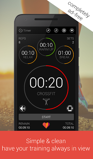 Tabata Pro screenshot 1
