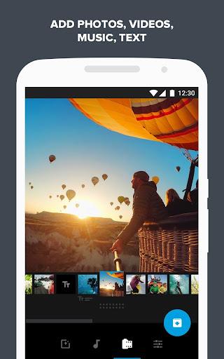 Quik u2013 Free Video Editor for photos, clips, music 5.0.7.4057-000c9d4b4 Screenshots 1