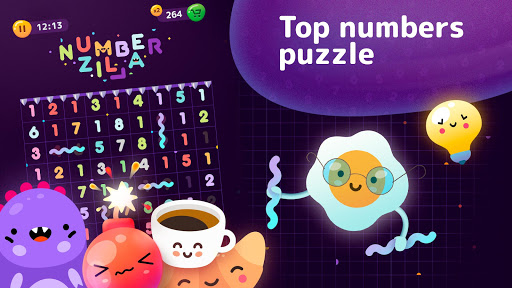 Numberzilla - Number Puzzle | Board Game 3.10.0.0 screenshots 7