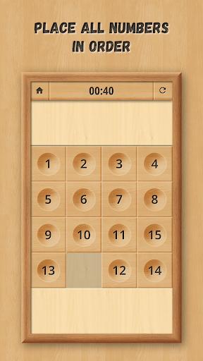 Sliding Puzzle: Wooden Classics  screenshots 2