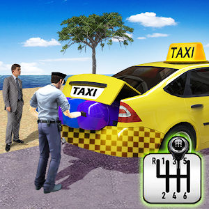 City Taxi Driving simulator: PVP Cab Games 2020