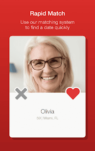 Dating for Seniors App - Meet Mature Singles Screenshot