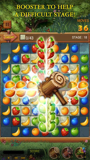 Fruits Forest : Rainbow Apple  screenshots 5