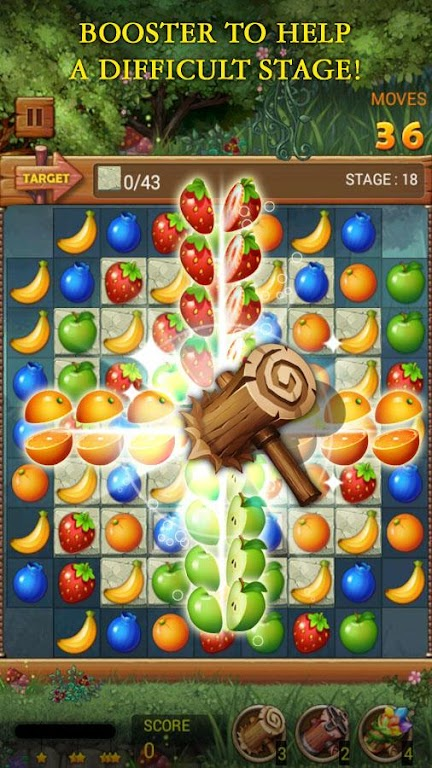 Fruits Forest : Rainbow Apple poster 4