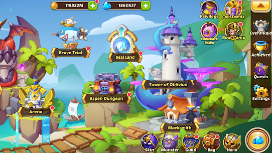 Idle Heroes MOD APK 1.25.0 (VIP 13) [Unlimited Gems/Money/Coins] 6