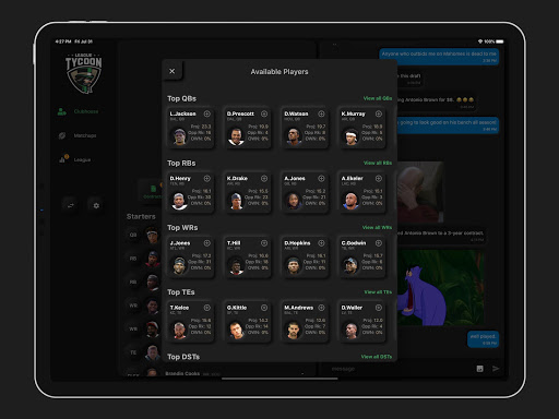 League Tycoon screenshots 7