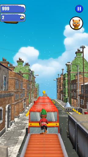Leo Cat Ice Run - Frozen City screenshots 3