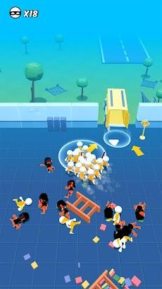 脱獄3D - 人形アクションゲームのおすすめ画像1